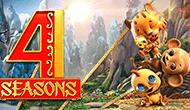 Играть бесплатно в увлекательный автомат 4 Seasons приглашает казино Вулкан