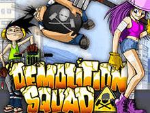 Бесплатный игровой автомат Demolition Squad в онлайн казино