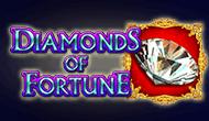 Играть в казино Вулкан и получить джекпот на игровом автомате Diamonds Of Fortune